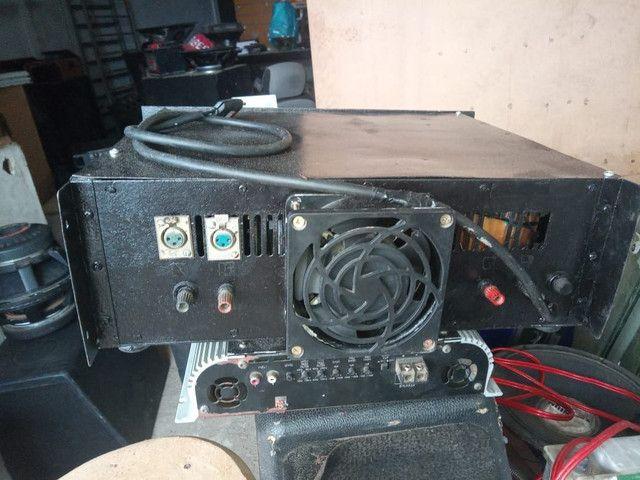 Amplificador/Potencia caseiro mil por canal 1.500 Reais - Foto 2