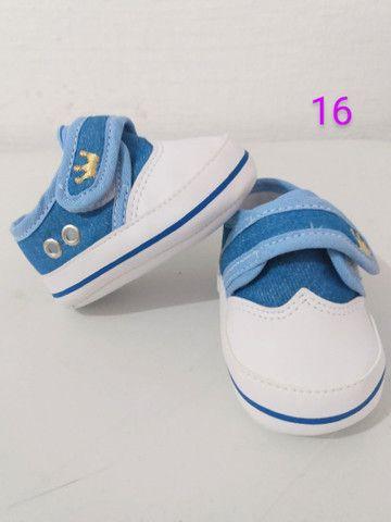 Sapatinhos para bebê/sandálias linha baby - Foto 2