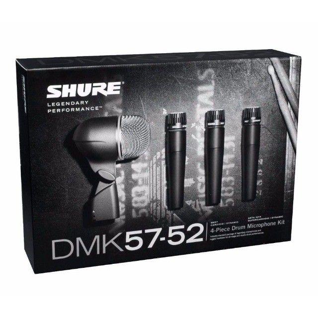 Kit de bateria Shure dmk52-57 Completo - Foto 3