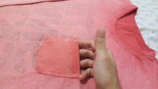 Camisa Osklen Manga Longa P - Foto 4