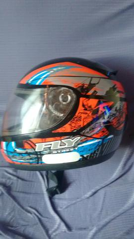 Capacete Fly perfeito