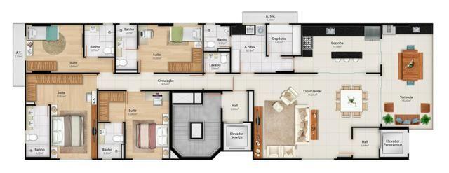 Apartamento 4 quartos em Colatina - Foto 8