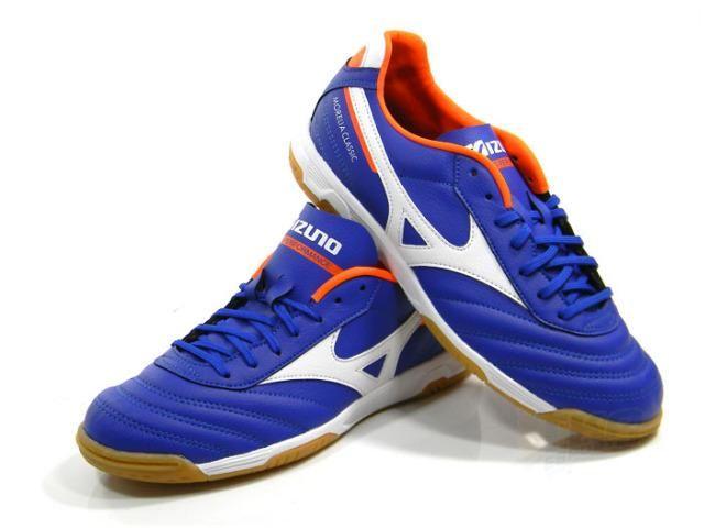 903b572064 Tenis Mizuno Morelia Classic Futsal azl bco tam  40-43 - Esportes e ...