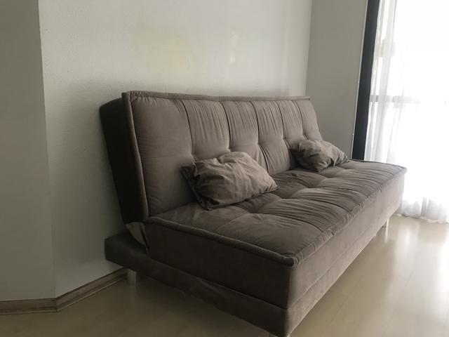 Sof cama 4 lugares c almofadas m veis indian polis for Olx sofa cama