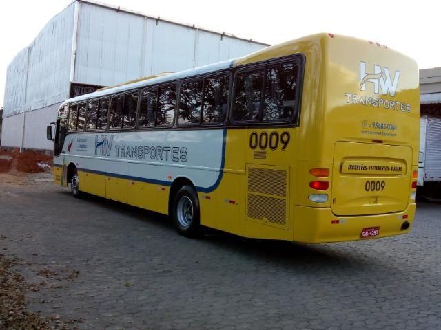 Ônibus rodoviário Comil 3.45 motor Mercedes O400 eletrônico ano 2000 46 lugares soft - Foto 5