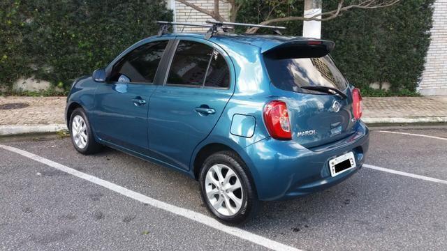 Nissan March 2015 1.6 SV 16V Completo! Excelente Estado!! Novo!! - Foto 4