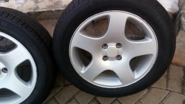 Rodas com pneus aro 16 - Foto 4