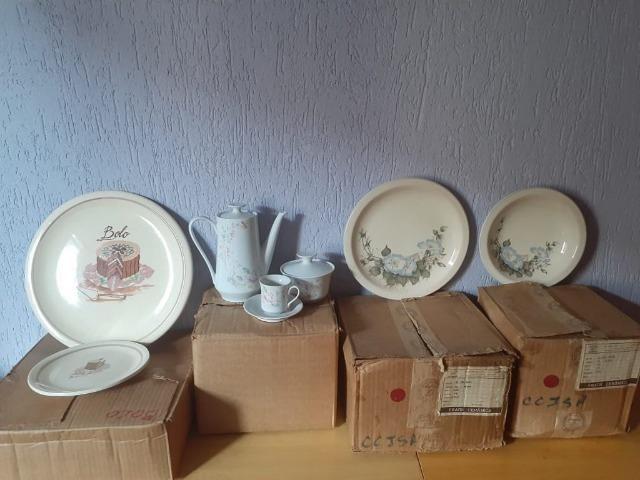 Conjunto de Porcelana Schmidt decorados - Foto 6