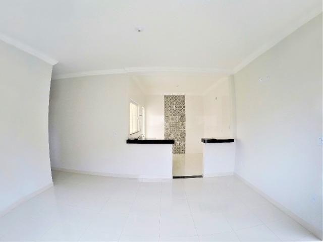 VN215 - Casa Nova com Fino acabamento no Bairro Novo Mundo - Vida Nova - Foto 5
