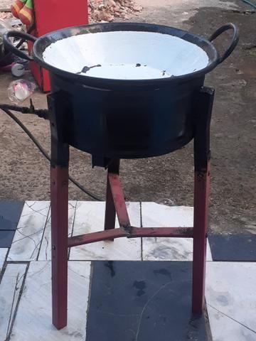 Fritadeira com tacho