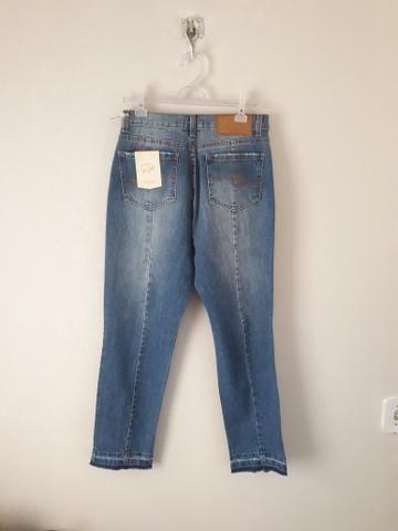 Peças jeans femininas tamanho 38 - Foto 3