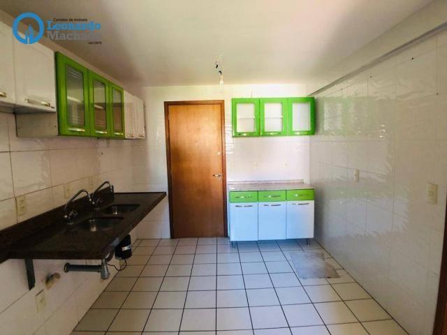 Apartamento com 3 dormitórios à venda, 115 m² por R$ 585.000 - Cocó - Fortaleza/CE - Foto 20