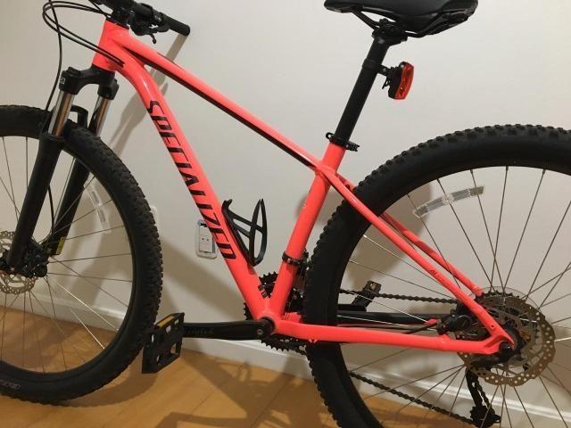 Bike Specialized Rockhopper Completa Feminino Aro 29