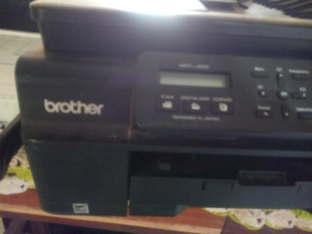 Impressora brother j 200 retirada pecas - Foto 2