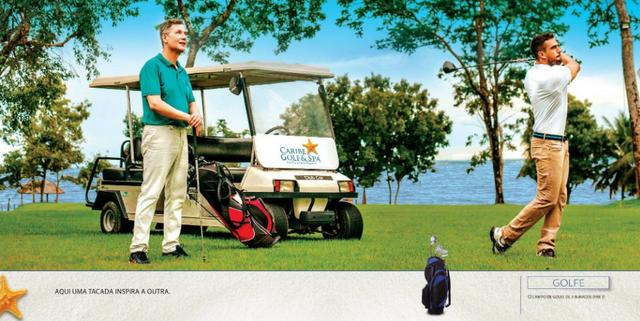 Caribe Golf & Spa Condomínio Resort - Lotes a partir de 600 m² - Beira Lago - Foto 11