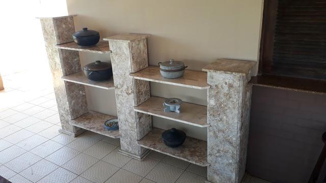 Estante de mármore travertino - Foto 3