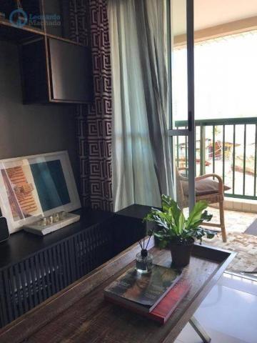 Apartamento à venda, 105 m² por R$ 546.000,00 - Meireles - Fortaleza/CE - Foto 2