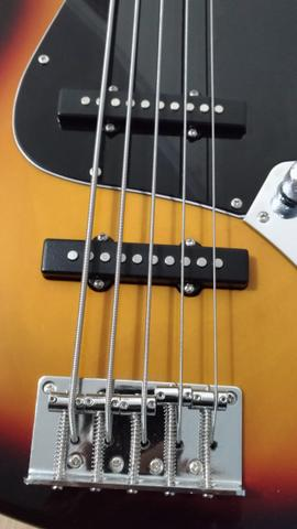 Fender jazz Bass ativo 5c - Foto 6