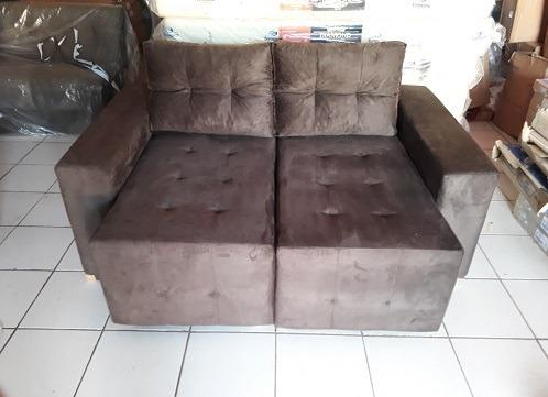 Receba No Mesmo Dia!!Lindo Sofa Retratil Novo Embalado ...
