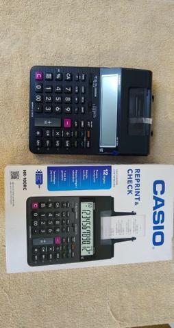 Calculadora com impressão HR-100 RC 249,99 [entregamos gratis] * - Foto 2