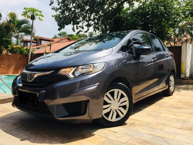 Honda Fit automático com couro e multimedia, ún.dona com 60 mil km!!!! - Foto 3