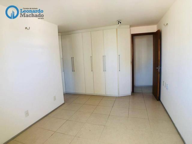 Apartamento com 3 dormitórios à venda, 115 m² por R$ 585.000 - Cocó - Fortaleza/CE - Foto 16