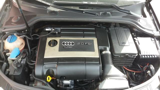 Audi a3 2.0t sportback tfsi s-tronic impecável com teto - Foto 13