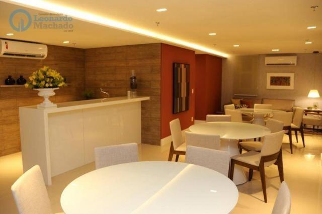 Apartamento com 3 dormitórios à venda, 126 m² por R$ 1.050.000 - Aldeota - Fortaleza/CE - Foto 10