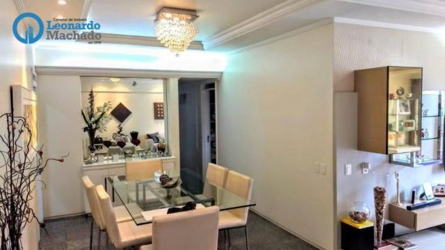 Apartamento com 3 dormitórios à venda, 126 m² por R$ 550.000 - Aldeota - Fortaleza/CE - Foto 2