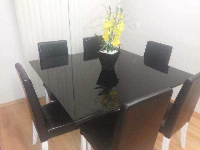 Envelopamento em mesas de vidro em ipatinga - Foto 4