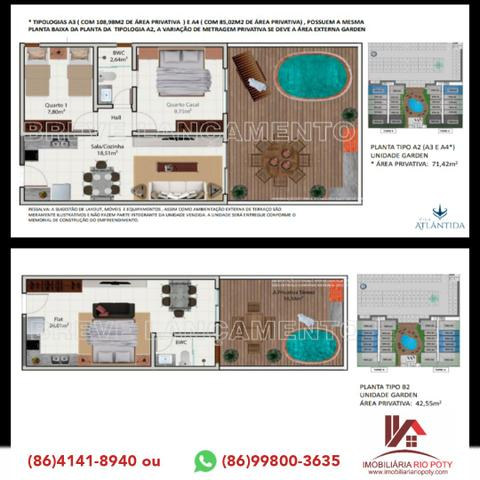 Apartamento em Luiz Correia/ Praia de Atalaia (Vila Atlântida) - Foto 3