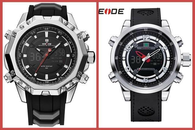 bbe9a368919 Relógio Original Weide Prova D água - Bijouterias