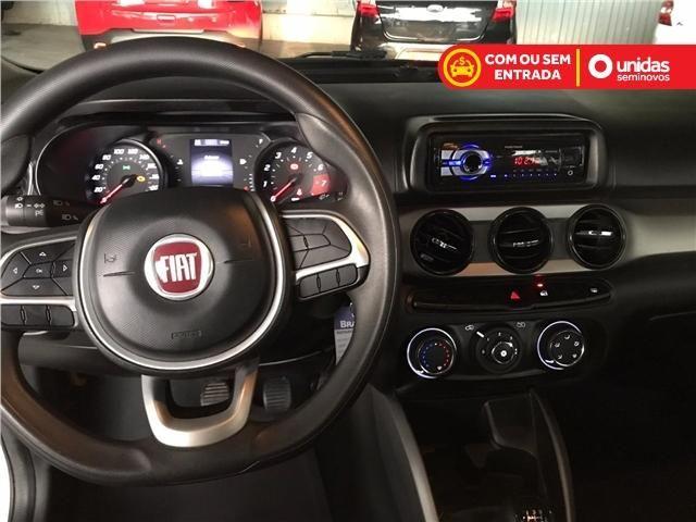 Fiat Argo Drive 1.0 Branco 4 portas completo km Baixa - Foto 7