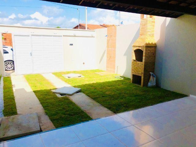JP linda casa com 2 quartos 2 banheiros otimo acabamento com doc. gratis - Foto 4