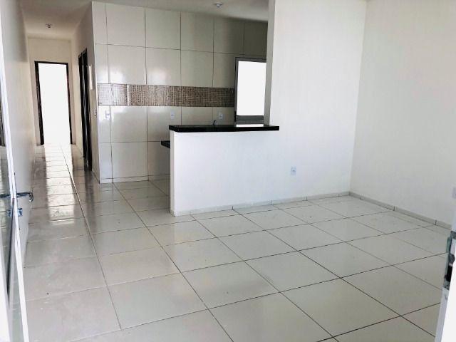 JP linda casa com 2 quartos 2 banheiros otimo acabamento com doc. gratis - Foto 5