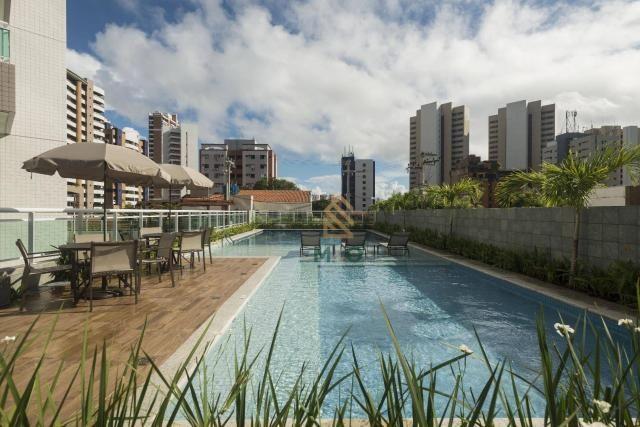 Apartamento com 3 dormitórios à venda, 90 m² por R$ 680.000 - Guararapes - Fortaleza/CE - Foto 3