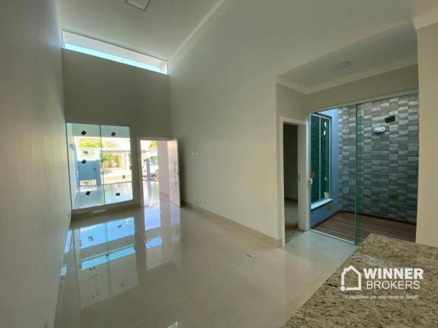 Casa com 3 dormitórios à venda, 105 m² por R$ 480.000,00 - Jardim Real - Maringá/PR - Foto 4