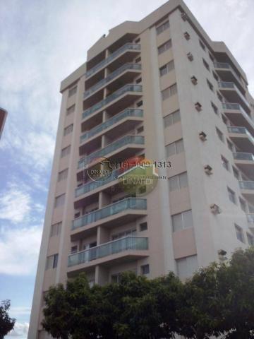 Apartamento com 1 dormitório para alugar, 44 m² por R$ 850,00 - Jardim Sumaré - Ribeirão P - Foto 2