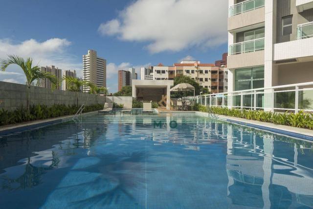 Apartamento com 3 dormitórios à venda, 90 m² por R$ 680.000 - Guararapes - Fortaleza/CE - Foto 2