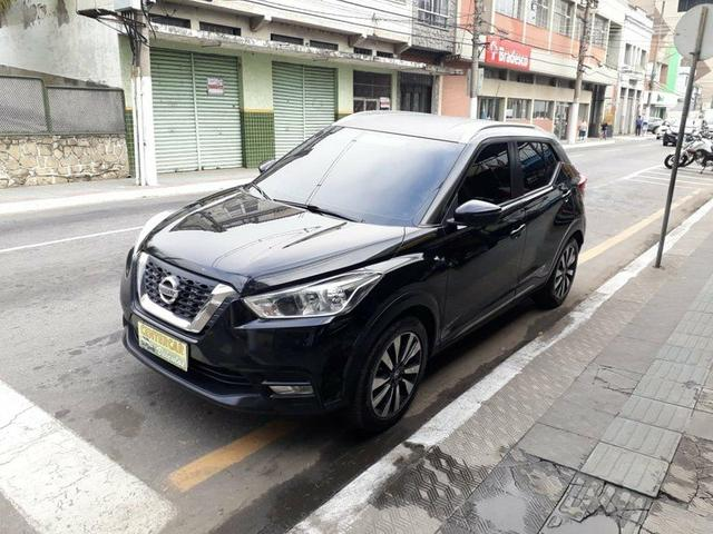 Kicks sv 1.6 aut. 2018 gnv injetado+multimídia+couro - Foto 3