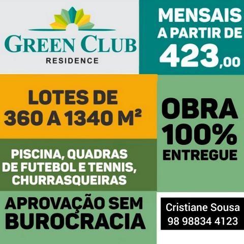04 - Green Club- Lotes em Cond. Fechado SEM Burocracia! - Foto 2