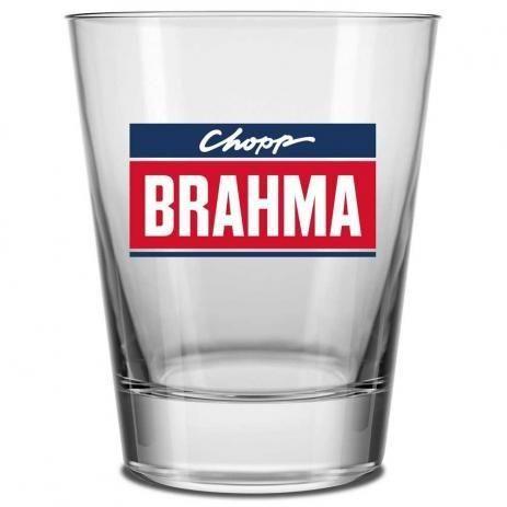 Copos Caldereta 220ml Brahma chopp - 20 unidades