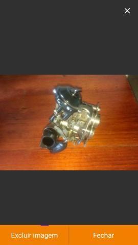 Carburador werber 1.6 álcool AP e coletor admissão escape gol quadrado - Foto 5