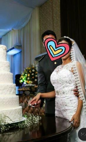 Vestido de Noiva + Véu - Foto 5