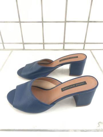 Sandália Jorge Bischoff Azul Escuro N:38