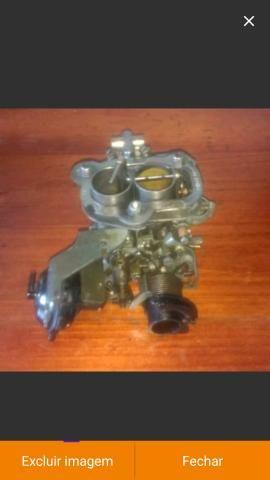 Carburador werber 1.6 álcool AP e coletor admissão escape gol quadrado - Foto 9