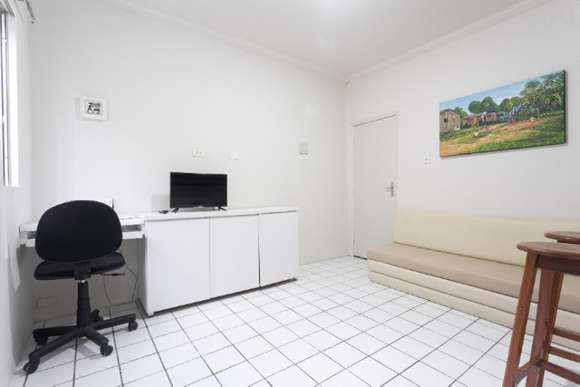Apartamento 03B, mobiliado, sala e quarto, com WI-FI, pertinho do Carrefour - lindo - Foto 9