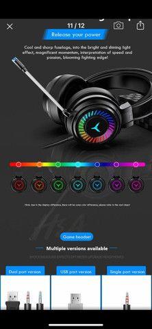 Headset Gamer Profissional 7.1 Surround 3D - Foto 5