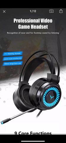 Headset Gamer Profissional 7.1 Surround 3D - Foto 4