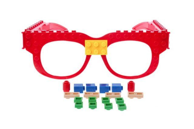 Óculos Lego + Pecinhas De Brinde Bloco De Montar Educativo - Foto 3